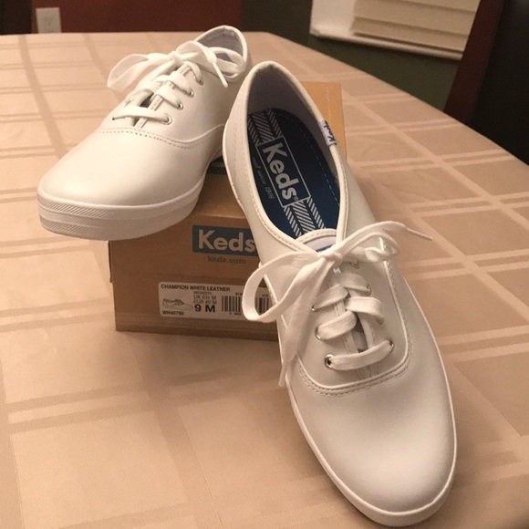 8c74721d7ac45 Keds Shoes - Keds Champion white leather sneakers